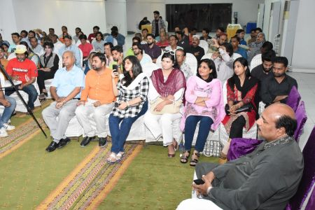 Condolence Gathering Of Prominent Singer Taaj Multani At Arts Council Of Pakistan Karachi (31)