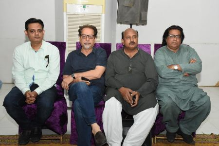 Condolence Gathering Of Prominent Singer Taaj Multani At Arts Council Of Pakistan Karachi (4)