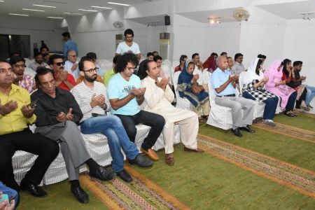 Condolence Gathering Of Prominent Singer Taaj Multani At Arts Council Of Pakistan Karachi (6)