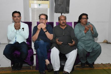 Condolence Gathering Of Prominent Singer Taaj Multani At Arts Council Of Pakistan Karachi (7)