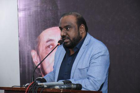 Condolence Reference Of Allama Zamir Akhtar Naqvi At Arts Council Karachi (13)