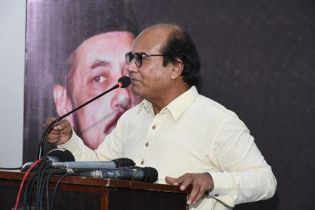 Condolence Reference Of Allama Zamir Akhtar Naqvi At Arts Council Karachi (14)