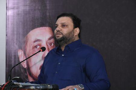 Condolence Reference Of Allama Zamir Akhtar Naqvi At Arts Council Karachi (1)