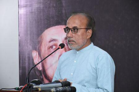Condolence Reference Of Allama Zamir Akhtar Naqvi At Arts Council Karachi (3)