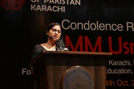 Condolence Reference Of MM Usmani At Arts Council Karachi (10)