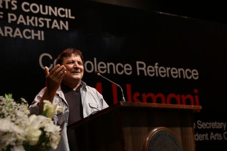 Condolence Reference Of MM Usmani At Arts Council Karachi (12)
