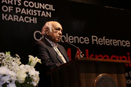 Condolence Reference Of MM Usmani At Arts Council Karachi (13)
