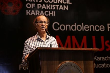 Condolence Reference Of MM Usmani At Arts Council Karachi (17)