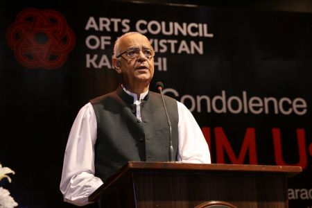 Condolence Reference Of MM Usmani At Arts Council Karachi (18)