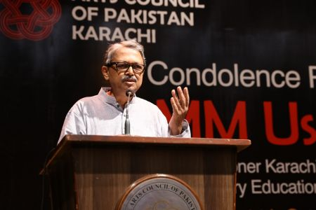 Condolence Reference Of MM Usmani At Arts Council Karachi (6)