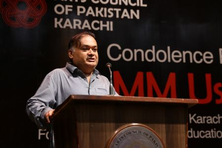 Condolence Reference Of MM Usmani At Arts Council Karachi (7)