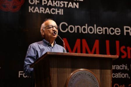Condolence Reference Of MM Usmani At Arts Council Karachi (8)