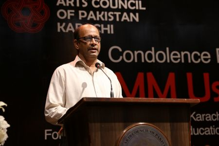 Condolence Reference Of MM Usmani At Arts Council Karachi (9)