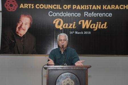 Condolence Reference Of An Artist Qazi Wajid  (17)