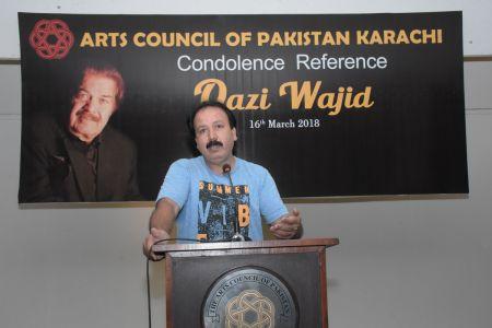 Condolence Reference Of An Artist Qazi Wajid  (20)