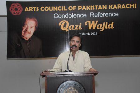 Condolence Reference Of An Artist Qazi Wajid  (22)