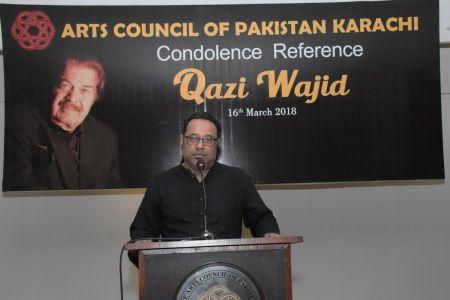 Condolence Reference Of An Artist Qazi Wajid  (23)