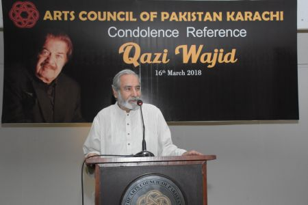 Condolence Reference Of An Artist Qazi Wajid  (26)