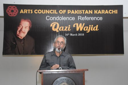 Condolence Reference Of An Artist Qazi Wajid  (27)