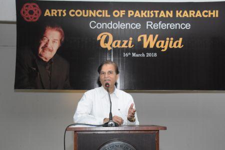 Condolence Reference Of An Artist Qazi Wajid  (30)