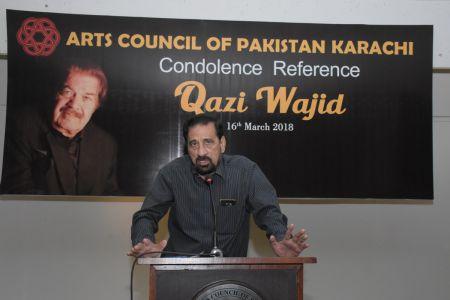 Condolence Reference Of An Artist Qazi Wajid  (33)