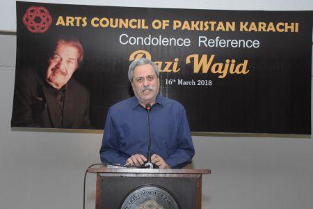 Condolence Reference Of An Artist Qazi Wajid  (3)