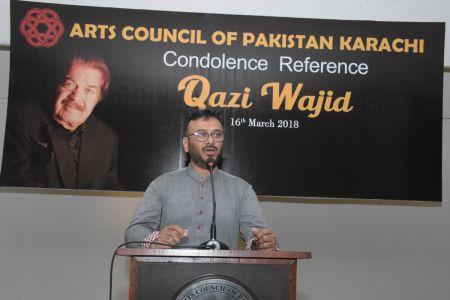 Condolence Reference Of An Artist Qazi Wajid  (4)