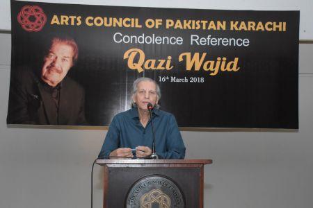 Condolence Reference Of An Artist Qazi Wajid  (6)