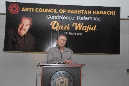 Condolence Reference Of An Artist Qazi Wajid  (7)