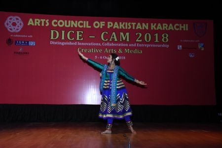 DICE CAM 2018; Gap Analysis Working Sessions And Inaugural Ceremony At Arts Council Karachi (12)