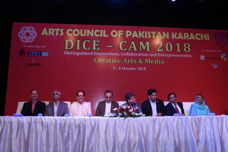 DICE CAM 2018; Gap Analysis Working Sessions And Inaugural Ceremony At Arts Council Karachi (1)