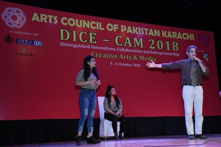 DICE CAM 2018; Gap Analysis Working Sessions And Inaugural Ceremony At Arts Council Karachi (20)