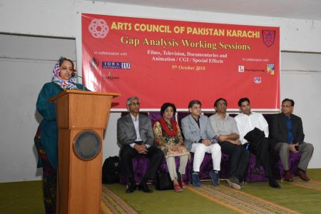 DICE CAM 2018; Gap Analysis Working Sessions And Inaugural Ceremony At Arts Council Karachi (26)