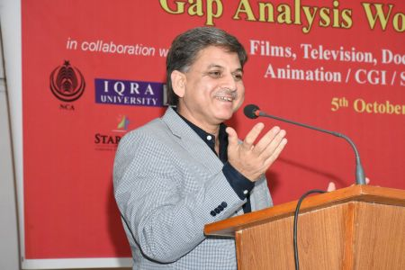 DICE CAM 2018; Gap Analysis Working Sessions And Inaugural Ceremony At Arts Council Karachi (27)