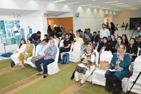 DICE CAM 2018; Gap Analysis Working Sessions And Inaugural Ceremony At Arts Council Karachi (28)