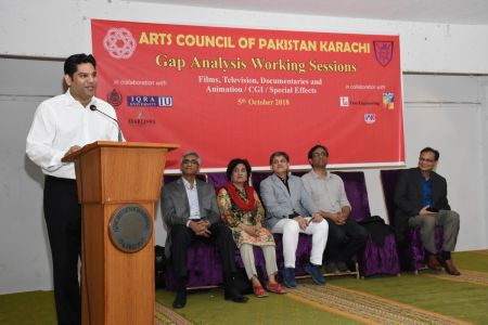 DICE CAM 2018; Gap Analysis Working Sessions And Inaugural Ceremony At Arts Council Karachi (30)