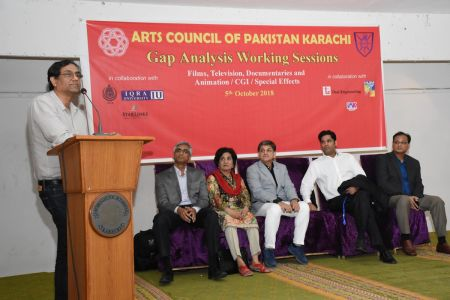 DICE CAM 2018; Gap Analysis Working Sessions And Inaugural Ceremony At Arts Council Karachi (31)