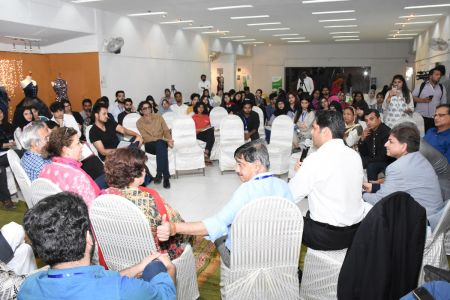 DICE CAM 2018; Gap Analysis Working Sessions And Inaugural Ceremony At Arts Council Karachi (36)