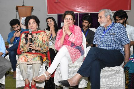 DICE CAM 2018; Gap Analysis Working Sessions And Inaugural Ceremony At Arts Council Karachi (38)