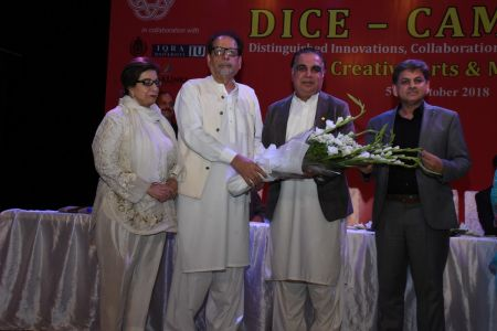 DICE CAM 2018; Gap Analysis Working Sessions And Inaugural Ceremony At Arts Council Karachi (7)