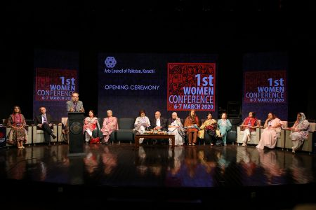 Day-1, 1st Women Conference 2020 Hosted By Arts Council Karachi (22)