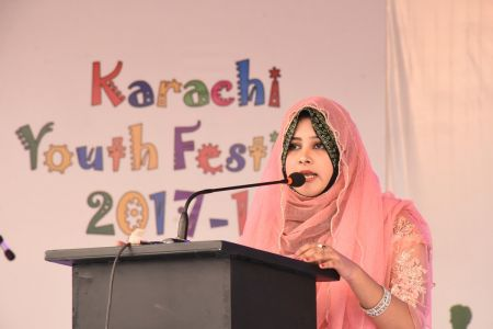 Declamation Competition, Distrtict Malir In Karachi Youth Festival 2017-18, Arts Council Karachi (10)