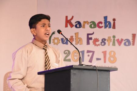 Declamation Competition, Distrtict Malir In Karachi Youth Festival 2017-18, Arts Council Karachi (14)