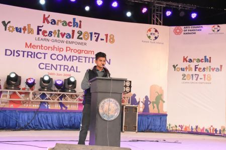 Declamation Competition, Distrtict Malir In Karachi Youth Festival 2017-18, Arts Council Karachi (15)