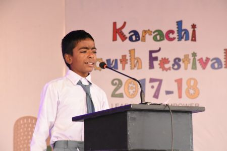 Declamation Competition, Distrtict Malir In Karachi Youth Festival 2017-18, Arts Council Karachi (16)