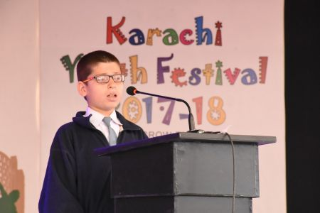 Declamation Competition, Distrtict Malir In Karachi Youth Festival 2017-18, Arts Council Karachi (17)