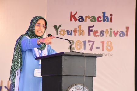 Declamation Competition, Distrtict Malir In Karachi Youth Festival 2017-18, Arts Council Karachi (19)
