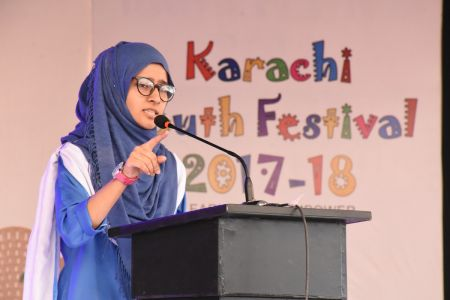 Declamation Competition, Distrtict Malir In Karachi Youth Festival 2017-18, Arts Council Karachi (20)