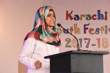 Declamation Competition, Distrtict Malir In Karachi Youth Festival 2017-18, Arts Council Karachi (21)