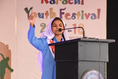 Declamation Competition, Distrtict Malir In Karachi Youth Festival 2017-18, Arts Council Karachi (22)